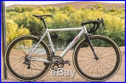 Spooky Mulholland Road Bike Size 52 Enve Zipp Campagnolo Super Record