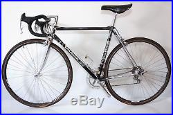 Tommasini Super Prestige classic steel roadbike, Campagnolo C Record, Chorus