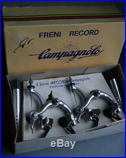 VGC Campagnolo Super record brakes set #2040/1 Colnago Cinelli Bianchi Masi x3