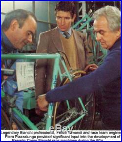 VGC mint Bianchi Specialissima X3 Campagnolo Super Record 56×56 Columbus SLX