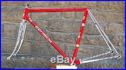 VGC small Eddy Merckx Pro SLX frameset 50x52 Campagnolo super record c
