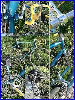 VINTAGE steel bike, EROICA, CAMPAGNOLO super record PAT 78
