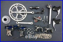 Vintage 1980s Campagnolo Super Record / Record Full Groupset Lovely Condition