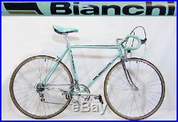 Vintage 1985 BIANCHI SPECIALISSIMA CAMPAGNOLO SUPER RECORD BIKE, 100% Original