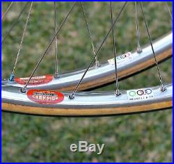 Vintage Campagnolo Record Track Pista Wheelset Super Champion Competition