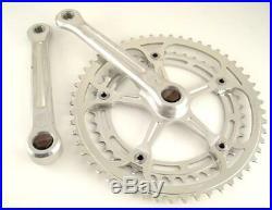 Vintage Campagnolo Super Nuovo RECORD CRANK Crankset 170mm Road bike 53/42 (LF)