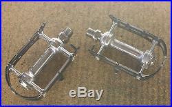 Vintage Campagnolo Super Record titanium pedals pedalset