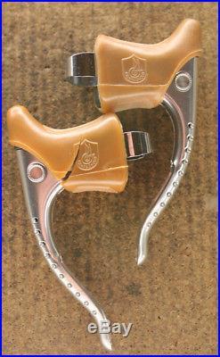 Vintage NOS NEW Campagnolo Super Record brakes brake levers