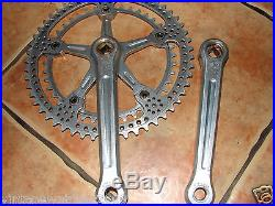 Vintage Rare Campagnolo Super Record Groupset First Generation Drillium Style