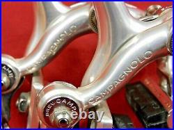 XLNT Campagnolo Nuovo Super Record F & R Calipers 47 mm Short Reach Allen Bolts